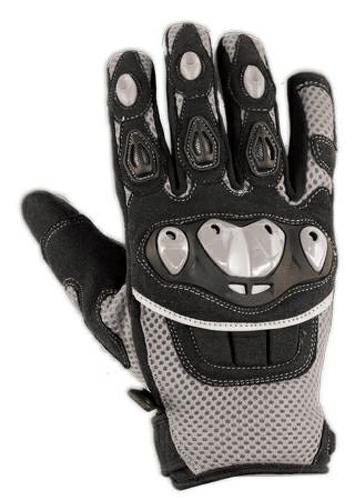 Guanto-Tessuto-Moto-Protezione-Nocche-Estivo-Tessuto-Mesh-Traforato-Estivo