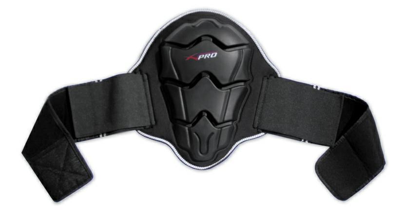 ce moto protection dorsale ceinture velcro respirante motard niveau 2 homologu e ebay. Black Bedroom Furniture Sets. Home Design Ideas