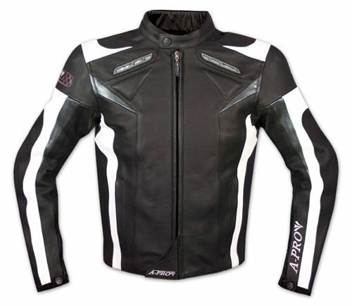 Leather-Jacket-Motorcycle-Racing-Motorbike-Sport-CE-Armored-A-Pro