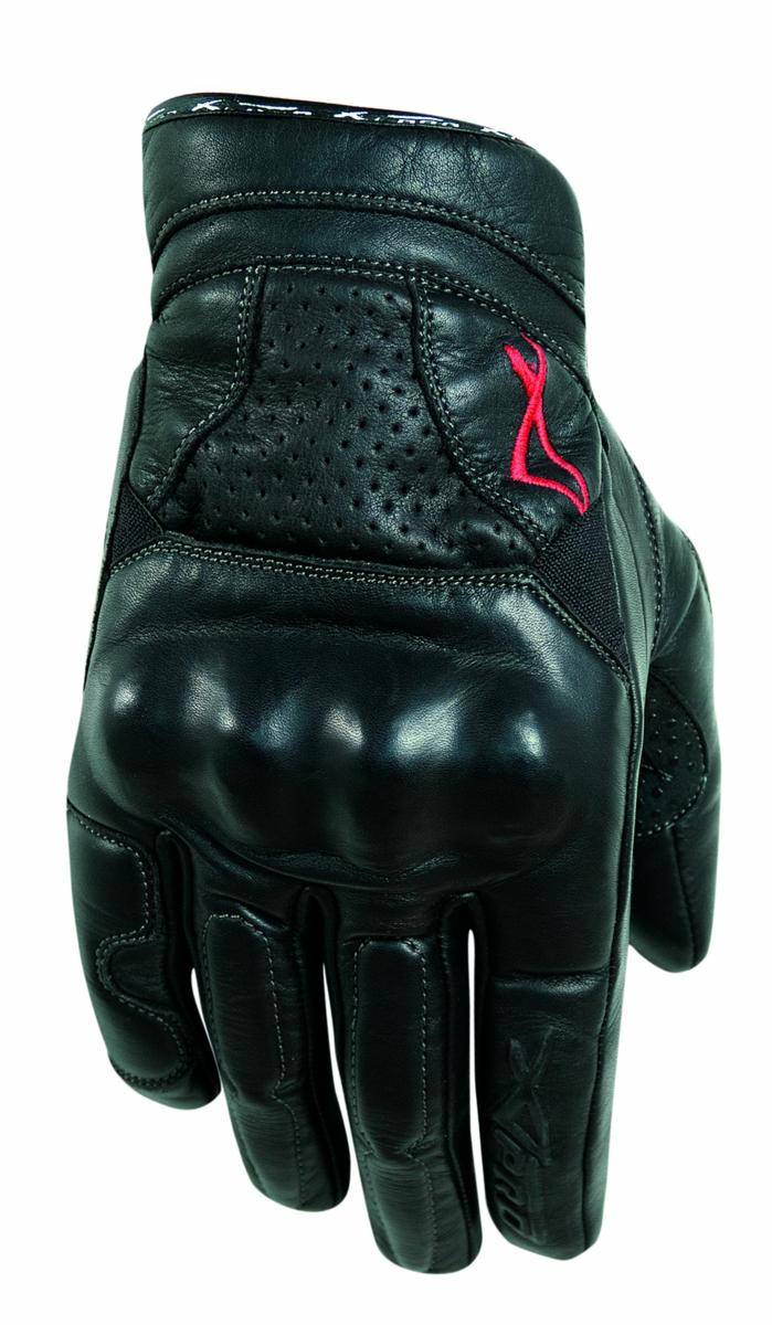 Gants-Motard-Moto-Cuir-Protection-Phalanges-Ete-Racing-MotoCross-Quad-MX miniature 4
