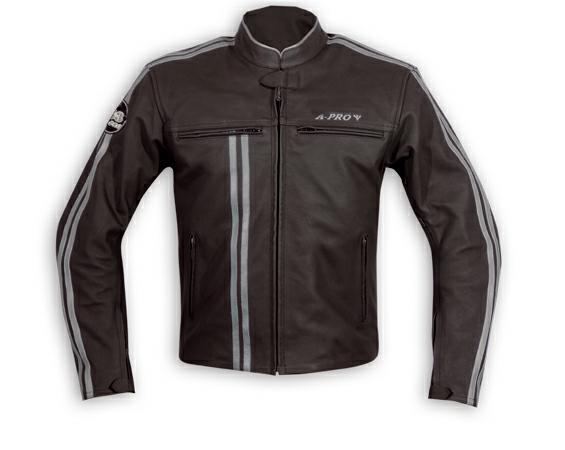 Piel-chaqueta-Moto-aprobo-protectores-CE-Custom-Naked-Retro-Vintage-039