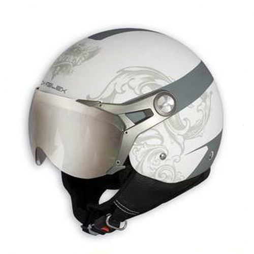 jet open face visiere casque moto motard grafique scooter. Black Bedroom Furniture Sets. Home Design Ideas
