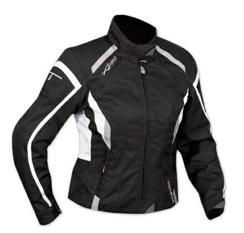 Giacca-Moto-Donna-Impermeabile-4-Stagioni-Scooter-Sport-Custom-Lady-Bianco
