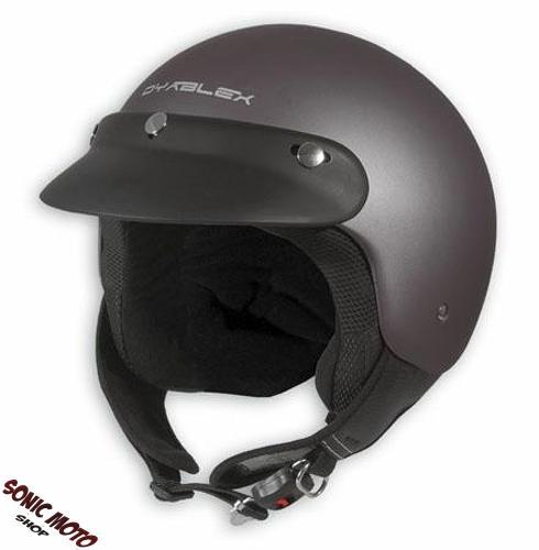demi jet casque moto motard cruiser moped scooter vespa. Black Bedroom Furniture Sets. Home Design Ideas