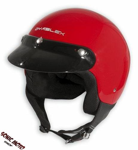 demi jet casque moto motard cruiser moped scooter vespa homologue parasoleil ebay. Black Bedroom Furniture Sets. Home Design Ideas