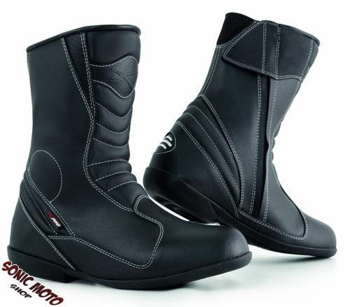 Ladies Motorcycle Boots Leather Apparel Waterproof Touring Women All Size