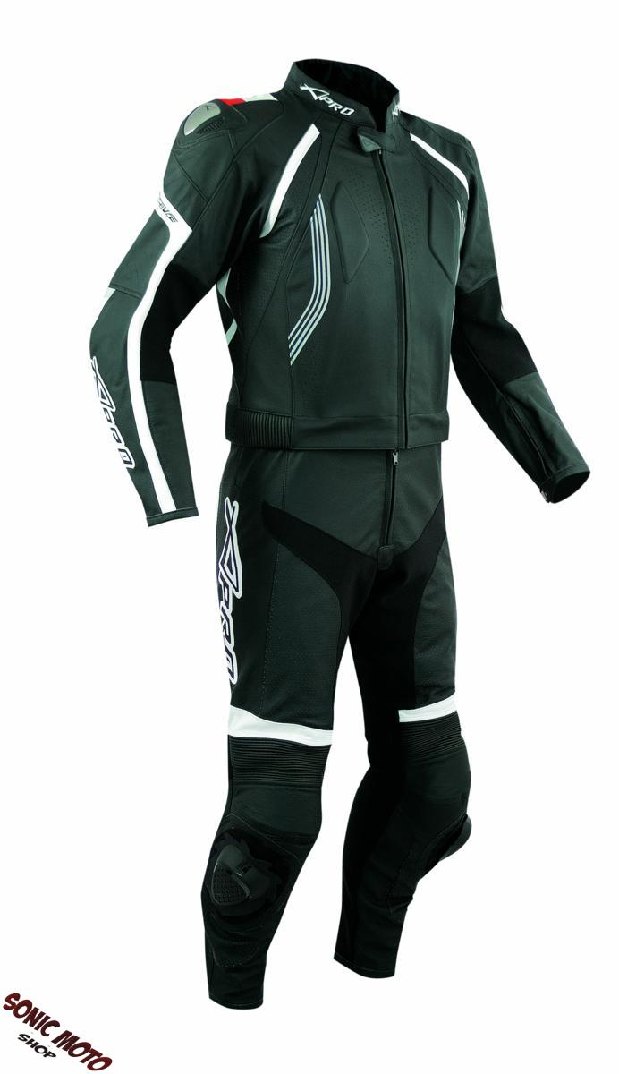 combinaison cuir blouson pantalon 2 pc piste moto motard racing protections ce ebay. Black Bedroom Furniture Sets. Home Design Ideas