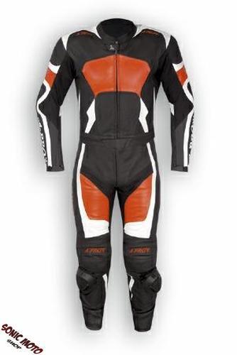 combinaison protections ce cuir blouson pantalon 2 pc piste moto motard orange ebay. Black Bedroom Furniture Sets. Home Design Ideas