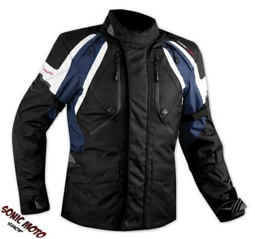 Jacket-CE-Armored-Quality-Waterproof-Motorbike-Motorcycle-Thermal-Dark-Blue