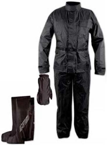 Anti-Pioggia-Acqua-Impermeabile-Tuta-Giacca-Pantalone-Copri-Guanto-Stivale-Moto