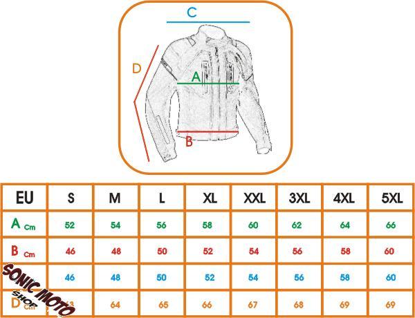 Giacca-Tessuto-Moto-Protezioni-CE-Manica-Staccabile-Gilet-Termico-Removibile