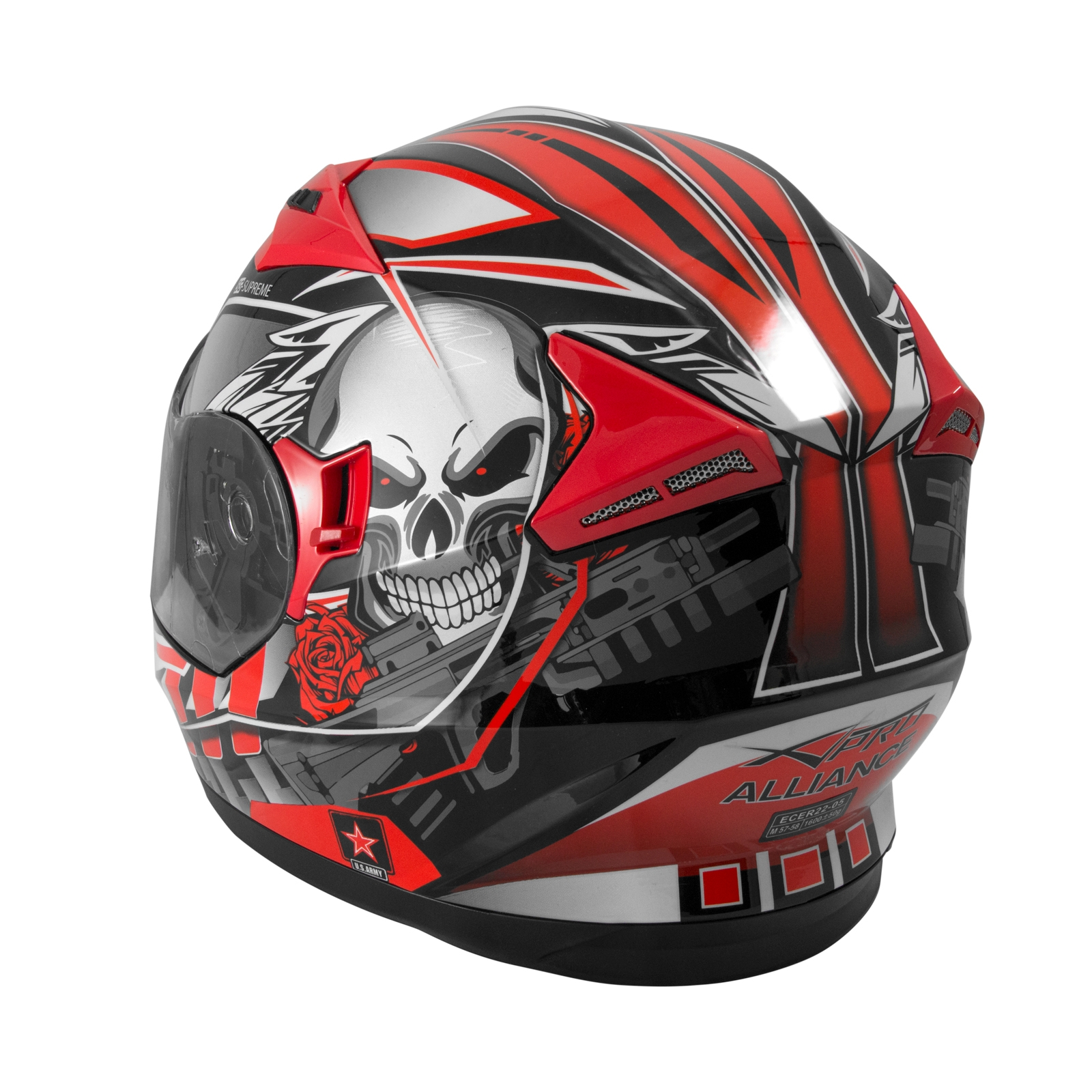 casco integrale ece 22 05 moto scooter visiera parasole. Black Bedroom Furniture Sets. Home Design Ideas