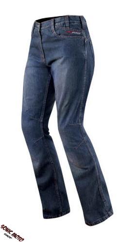 Jeans-Femme-Denim-CE-Protections-Moto-Motard-Pants-Coton-Scooter-Lady-Trousers