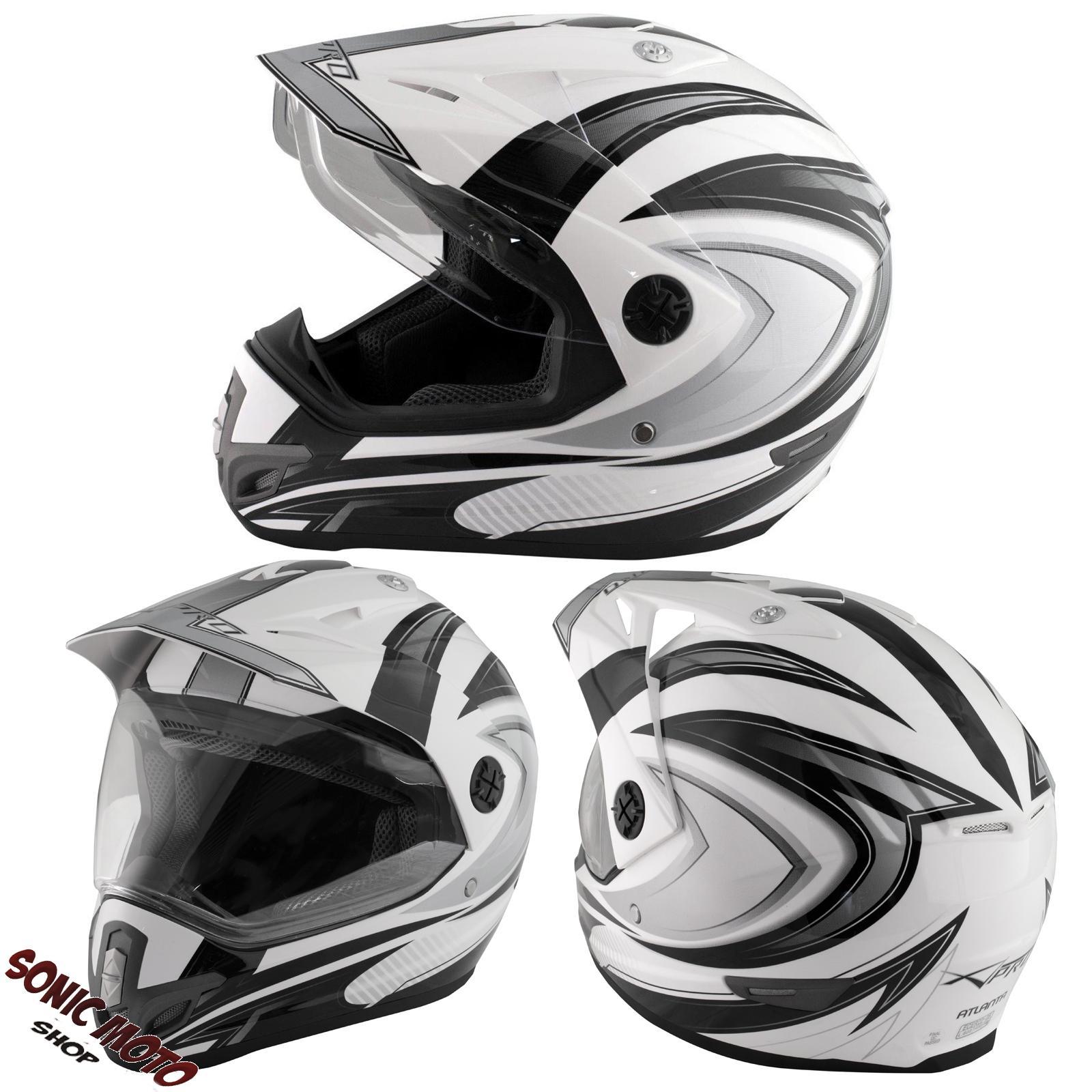 Casque-Motocross-Moto-Enduro-Offroad-Quad-ATV-Visiere-Anti-Buee