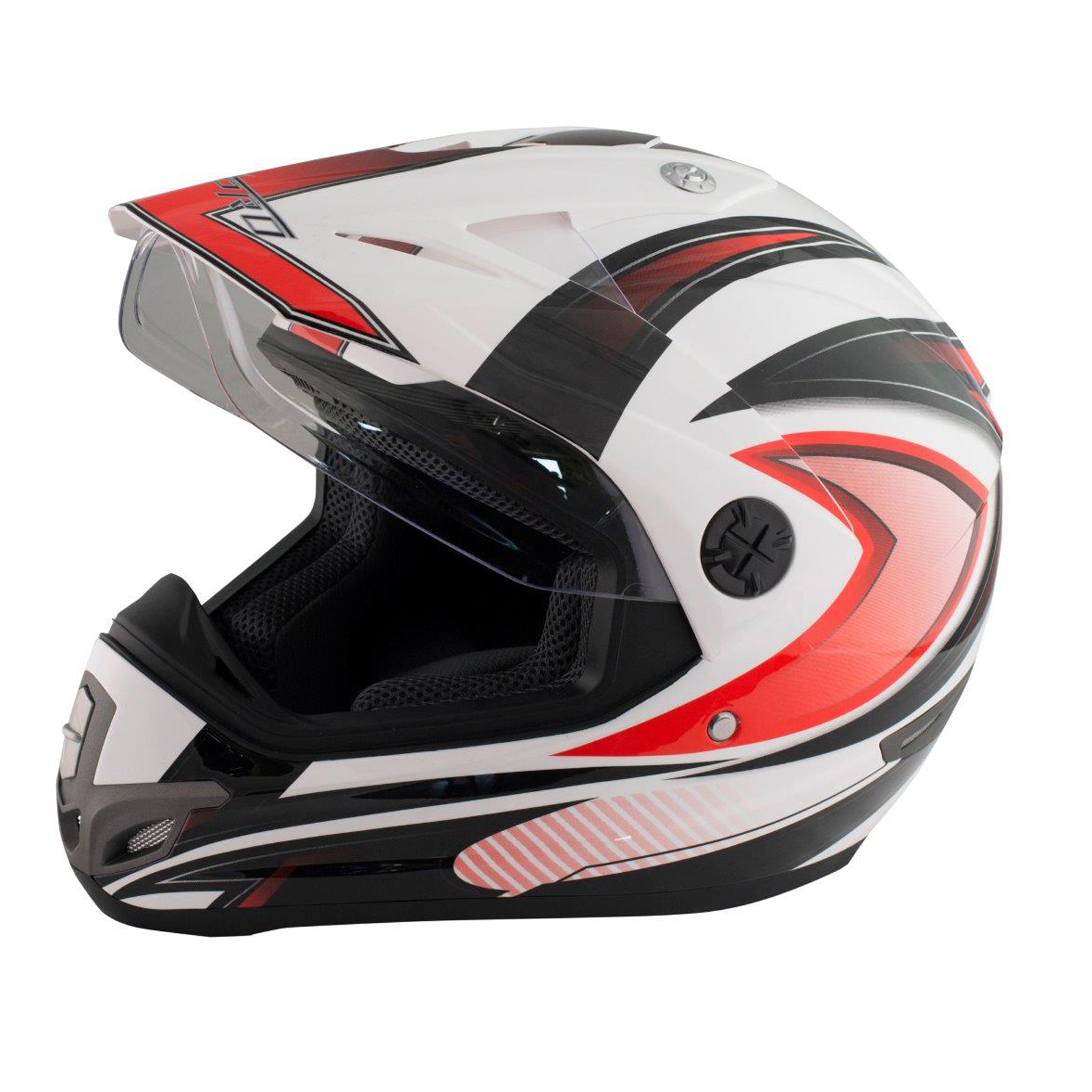 casque motocross moto enduro offroad quad atv visi re anti bu e ebay. Black Bedroom Furniture Sets. Home Design Ideas