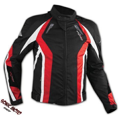 Cordura-Moto-Jacket-Women-Chaqueta-Mujer-transpirable-CE-termica-Chaleco-Rojo