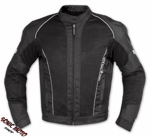 et blouson textile touring sport moto scooter mesh doublure impermeable noir ebay. Black Bedroom Furniture Sets. Home Design Ideas