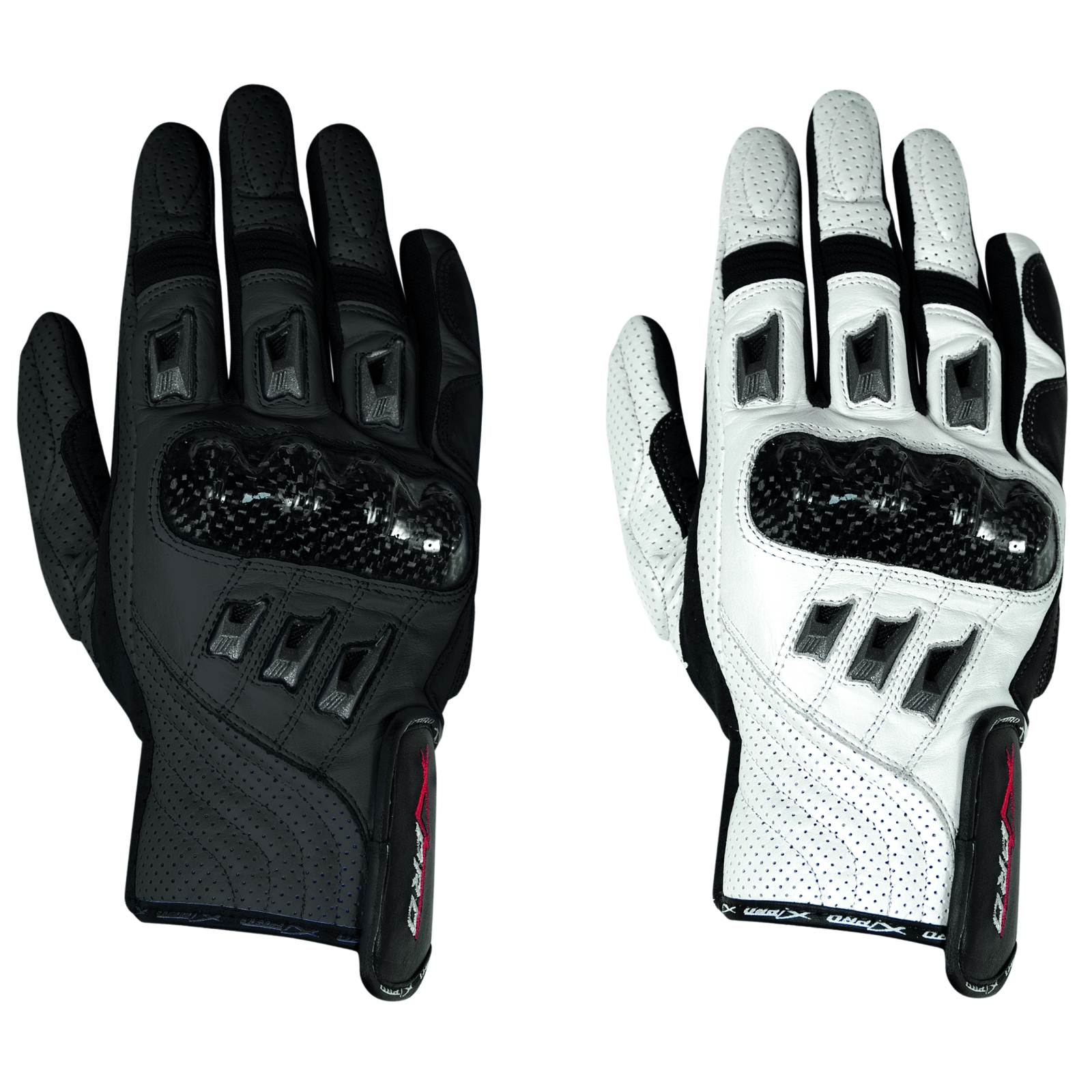 Gants-Cuir-Moto-Motard-sport-Protection-Articulation-Respirant-perfore