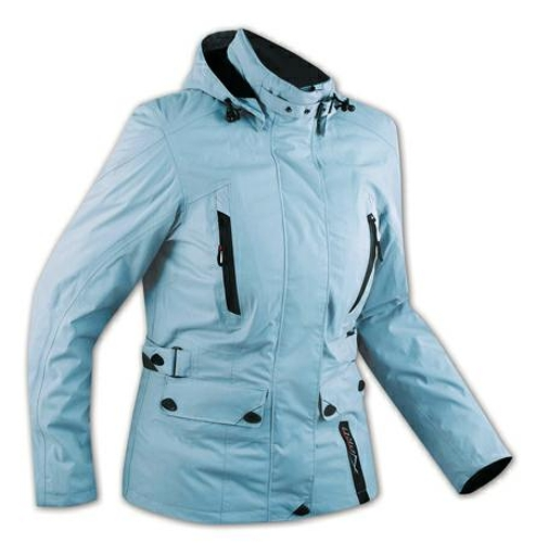 Scooter-Chaqueta-Bike-Jacket-Mujer-Jacket-Women-Impermeables-Protectoras-Azul