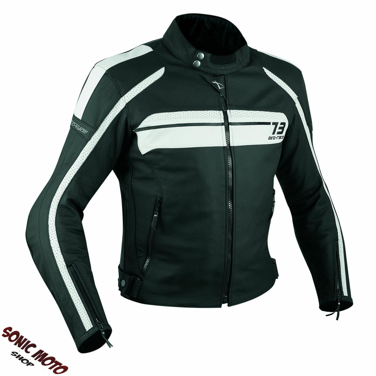 blouson cuir thermique moto motard sport touring protections homologu es ebay. Black Bedroom Furniture Sets. Home Design Ideas