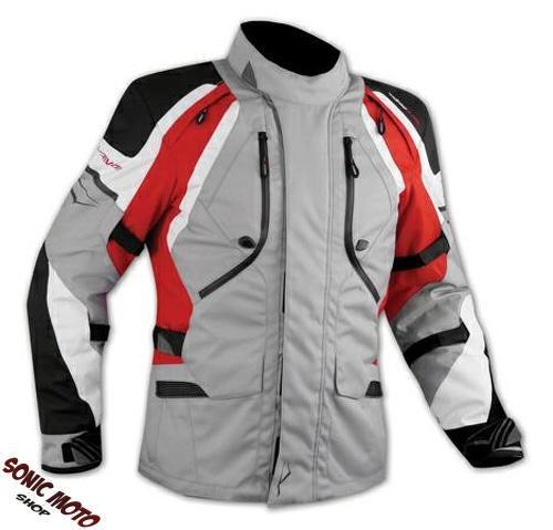 Motorbike-Motorcycle-Waterproof-CE-Armored-Textile-Touring-Jacket-Cordura-Red