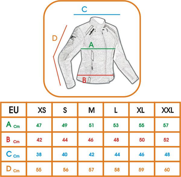 Giacca-Donna-Moto-estiva-protezioni-Omologate-Cordura-Tessuto-Mesh-Traspirante