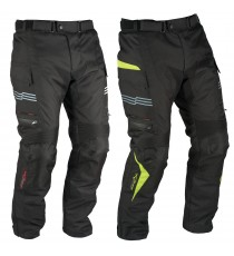 A-Pro Waterproof Motorcycle Motorbike Textile Thermal Cordura Trousers Fluo Sonicmotoshop