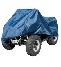 Cubierta Tela Impermeable Moto ATV Quad Naked Impermeable Azul
