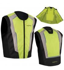 Chaleco Motos Bicicleta Auto Alta Visibilidad Segurridad Fluo Reflectantes