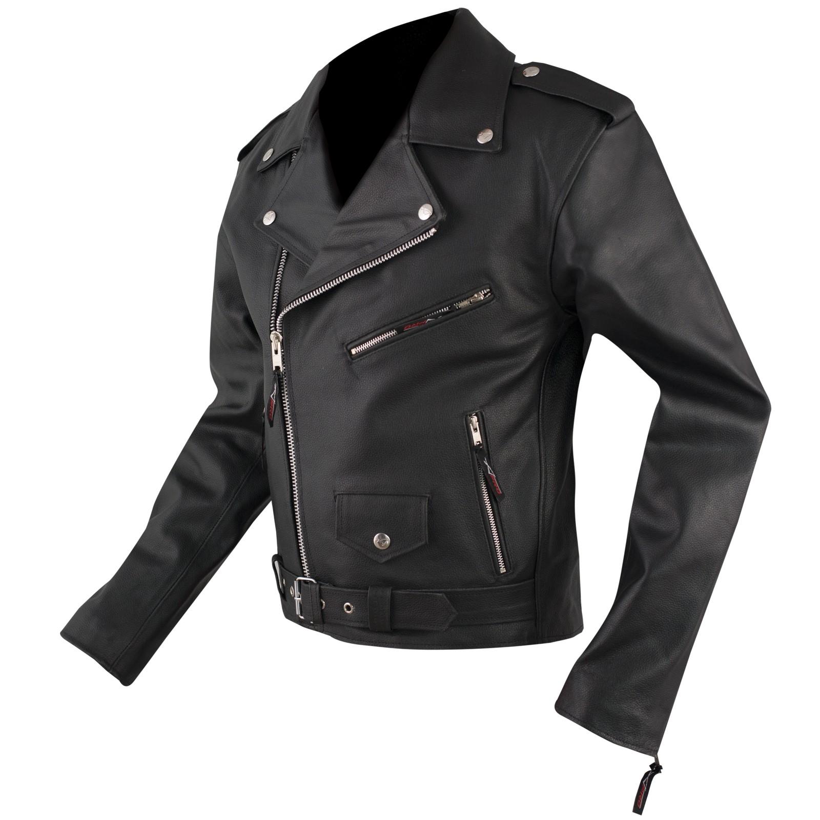 Abbigliamento moto e accessori giacca pelle chiodo uomo for Interno 09 abbigliamento