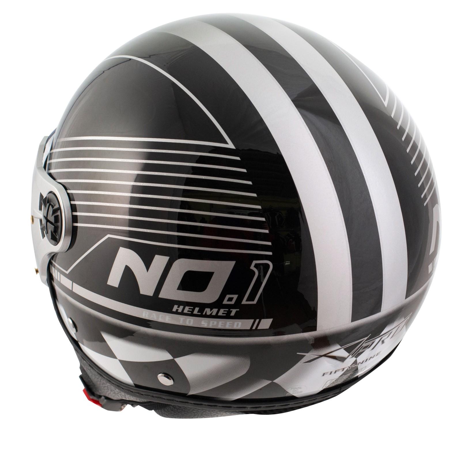 abbigliamento moto e accessori scooter moto casco jet. Black Bedroom Furniture Sets. Home Design Ideas
