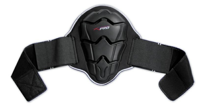 Paraschiena Protezione Lombare Omologato Livello 2 Moto Sci Scooter Touring Nero