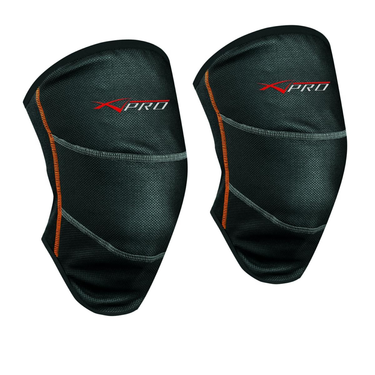 Ginocchiera Moto Protezione Ginocchia Tessuto Tecnico Anti Vento Termica Nero