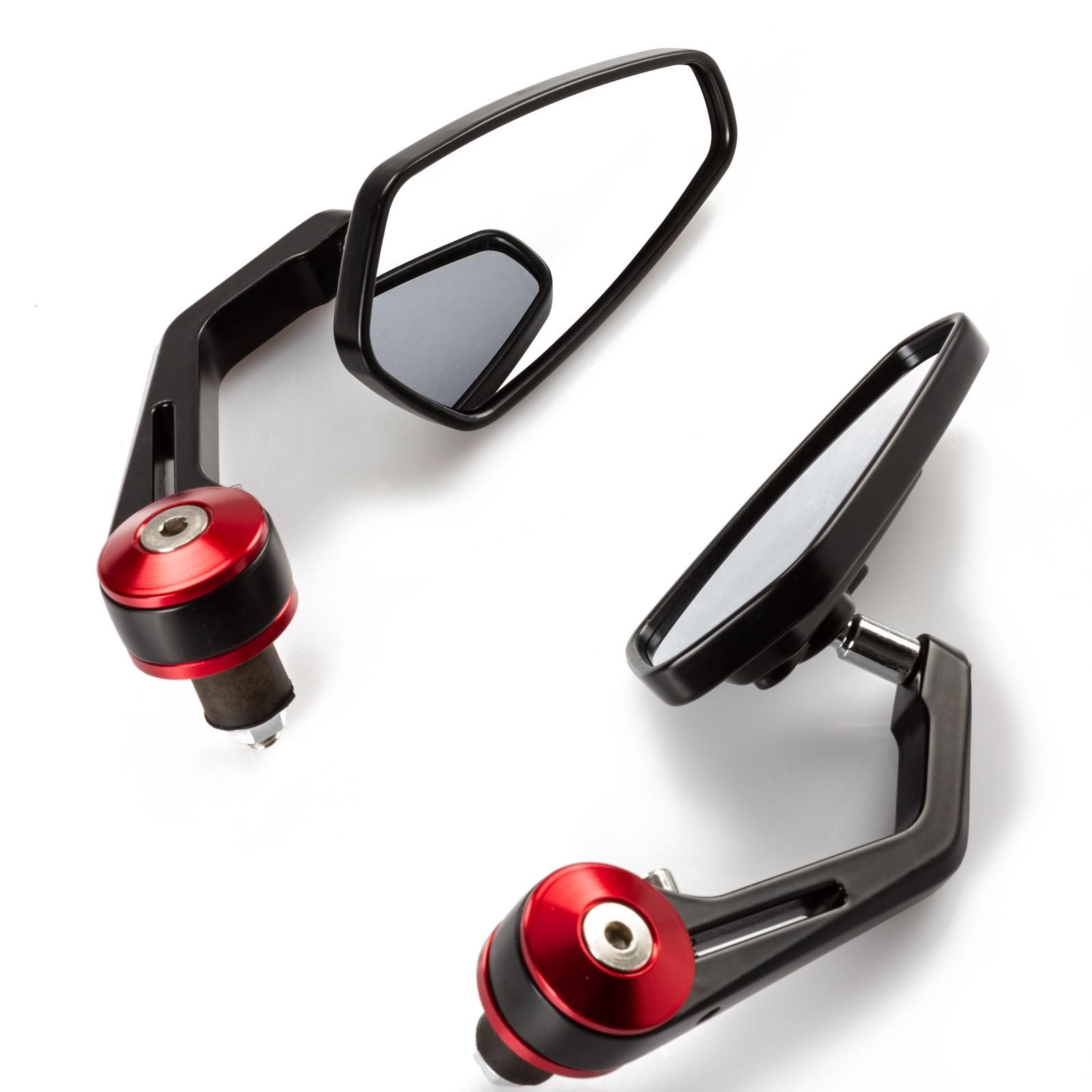 SR4418-Mirrors-Specchietti-Red-Rosso-Motorcycle-Sonic-Moto-Front