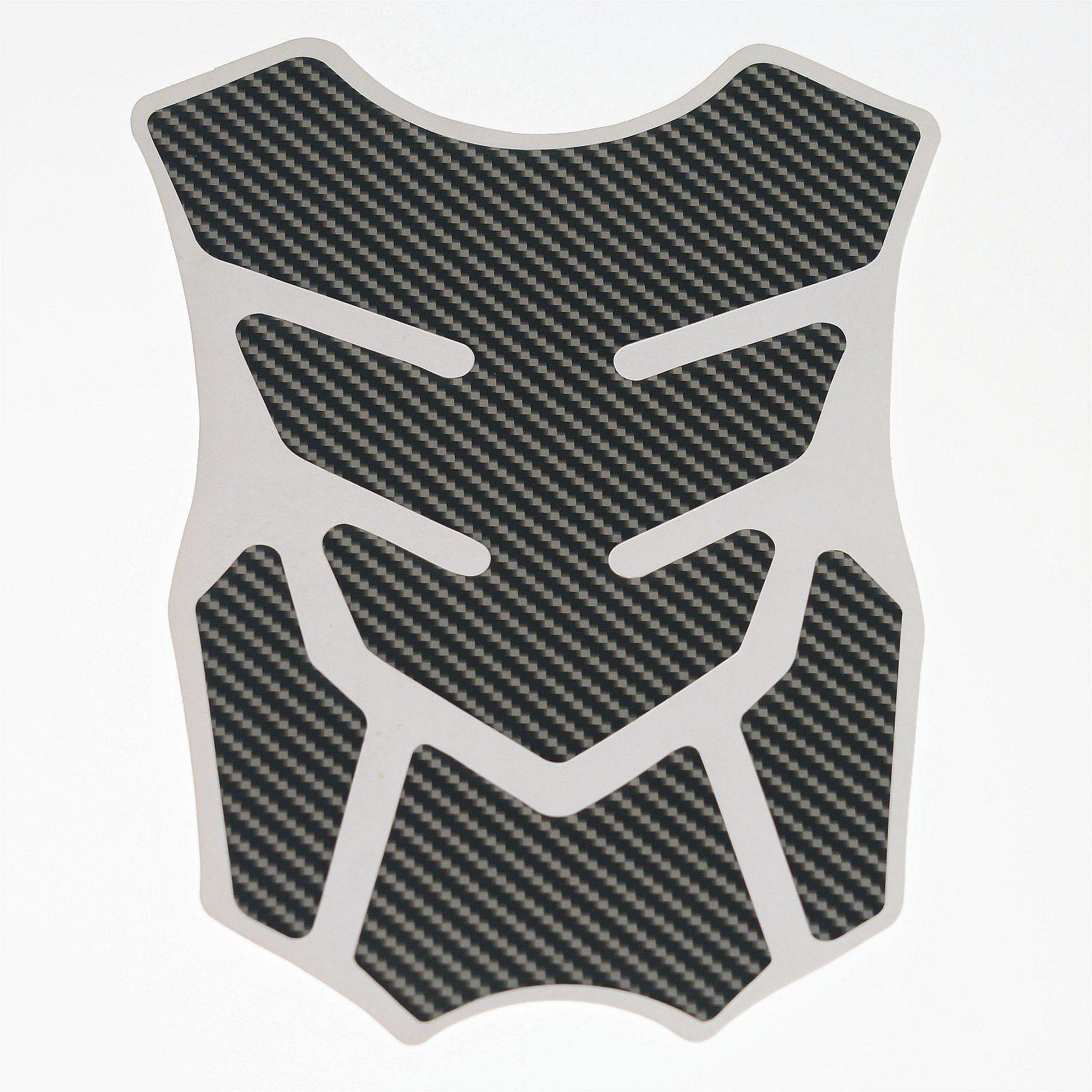 Adesivo Protezione Serbatoio Moto Resina 3D Paraserbatoio Stickers Carbon