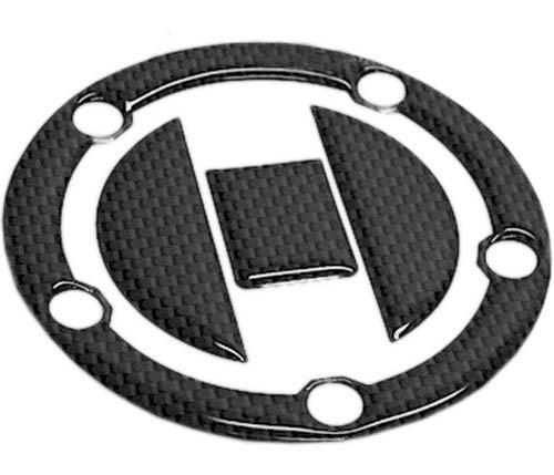 Adesivo Tappo Serbatoio Resina 3D Suzuki 5 Fori Adesivi Moto Stickers Carbon