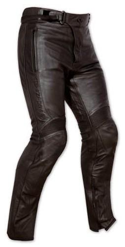 Moto Pantaloni Pelle Protezioni Omologate Cerniera Vita Aggancio Giacca