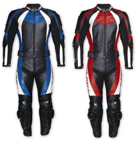 Tuta Moto Pelle divisibile 2 pezzi Protezioni Omologate Racing Giacca Pantaloni