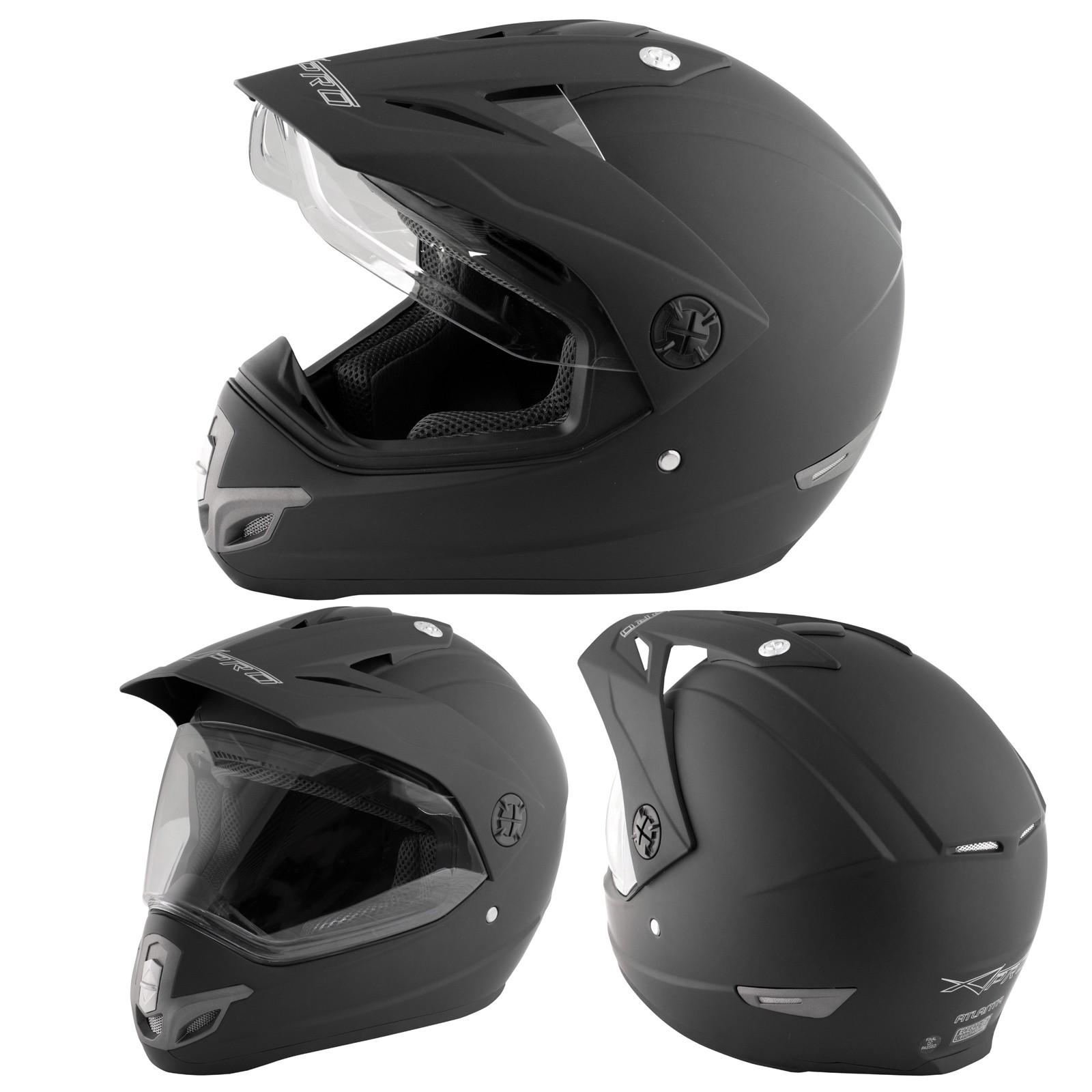 abbigliamento moto e accessori casco moto cross enduro trial quad off road visiera anti nebbia. Black Bedroom Furniture Sets. Home Design Ideas