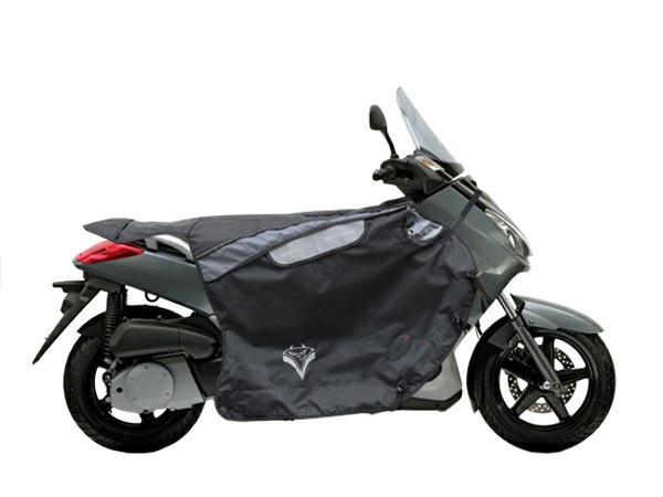 CopriGambe Scooter Termoscudo Piaggio Sym Yamaha Peugeot Gilera Daelim Nero