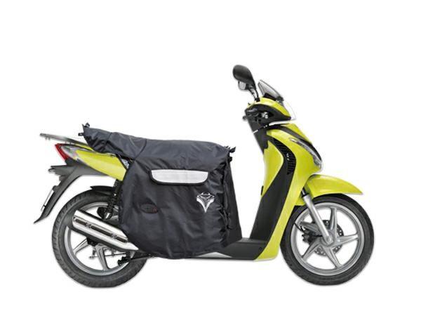 CopriGambe Scooter Termoscudo Universale Impermeabile Termico Piaggio Sym Nero