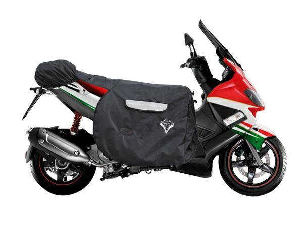 CopriGambe Maxi Scooter Termoscudo Universale Impermeabile Termico Piaggio Nero