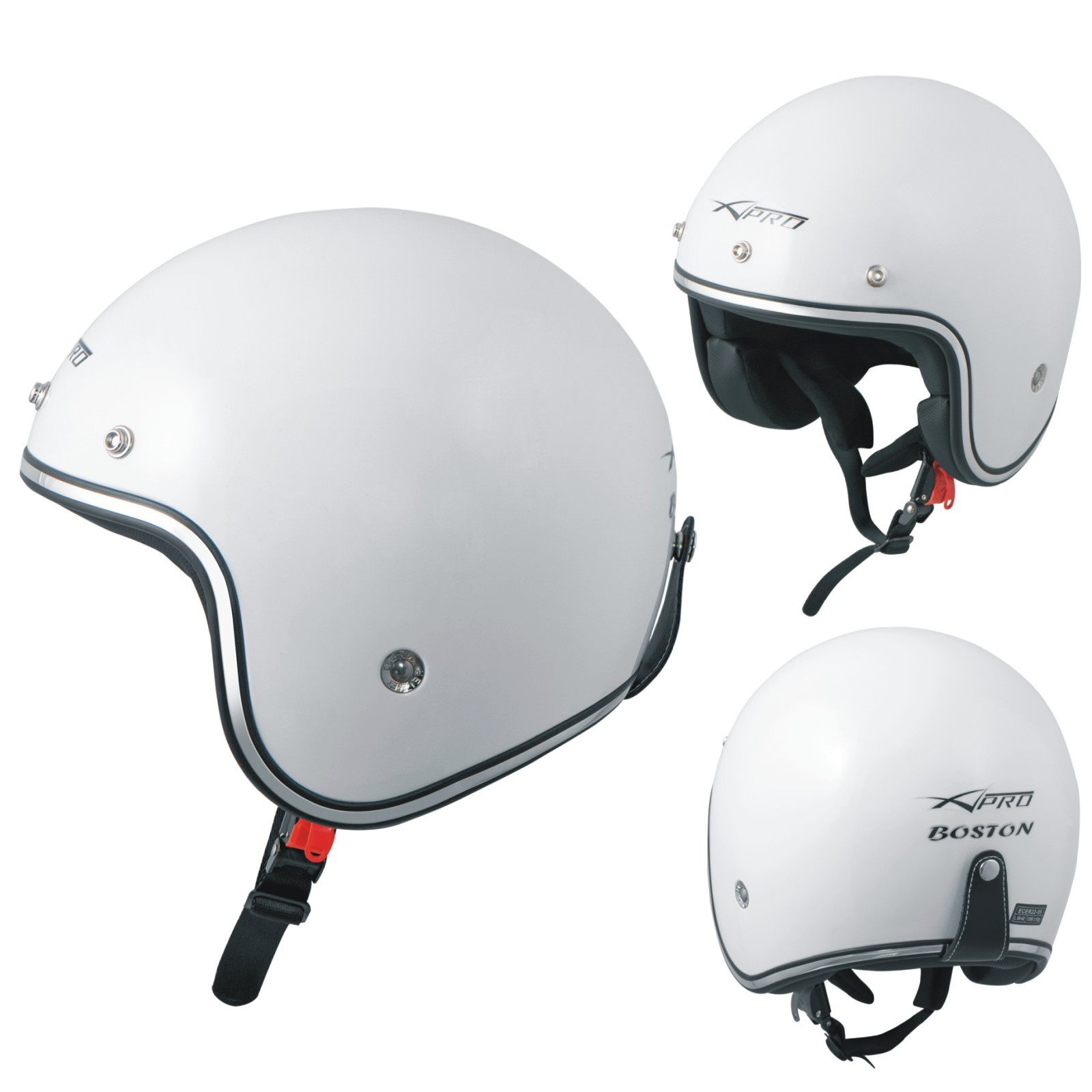 BOSTON_Casco_Helmet_Moto_Motorcycle_White_A-Pro