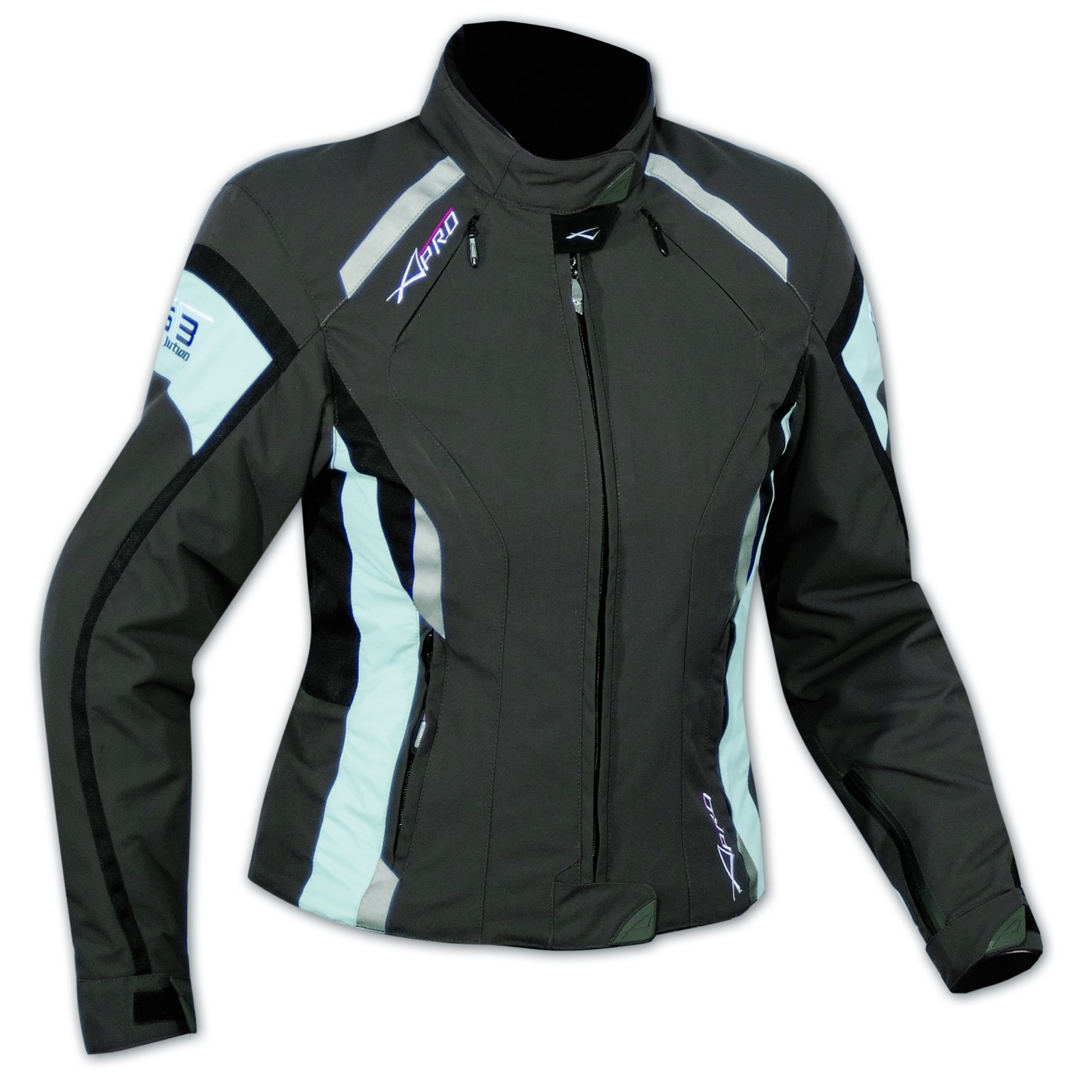 Giacca Moto Donna Impermeabile 4 Stagioni Scooter Sport Custom Lady Marrone