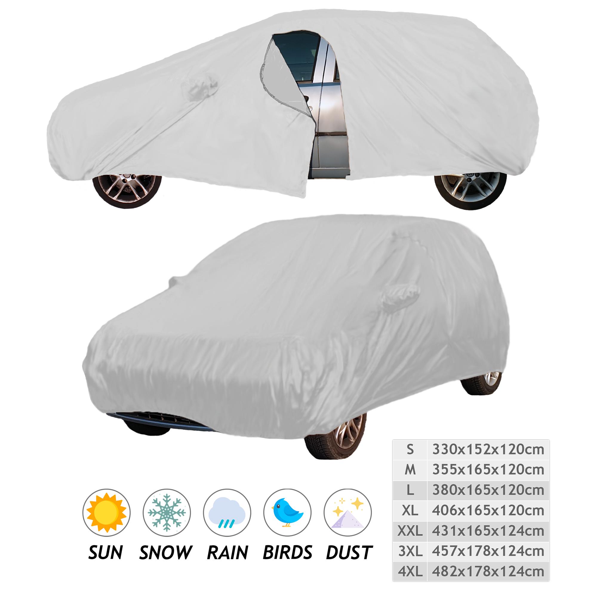 Telo Premium Copri Auto Impermeabile Resistente Elastico Copriauto SUV 2 Volumi