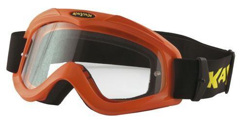 Maschera Occhiali Casco Moto Cross Offroad Enduro Motard Sci Snowboard  Arancio