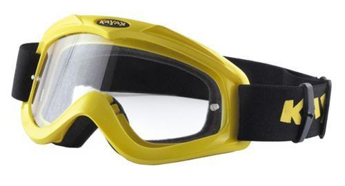 Maschera Occhiali Casco Moto Cross Offroad Enduro Motard Sci Snowboard  Giallo
