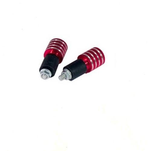 Stabilizzatori Contrappesi Bilancieri Manubrio Universali Moto Scooter Rosso