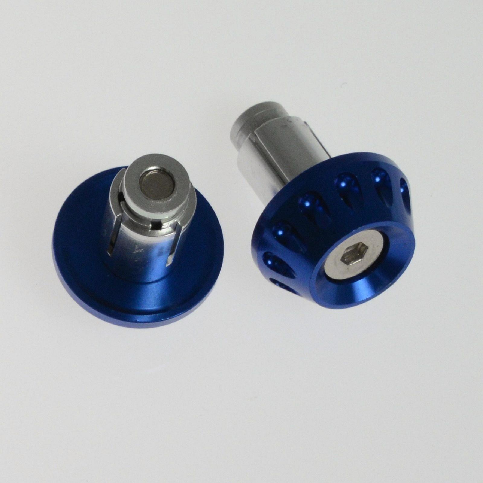 Contrappesi Manubrio Stabilizzatori Bilancieri Scooter Moto Universali  Blu
