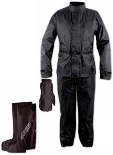 Anti Pioggia Acqua Impermeabile Tuta Giacca Pantalone Copri Guanto Stivale Moto